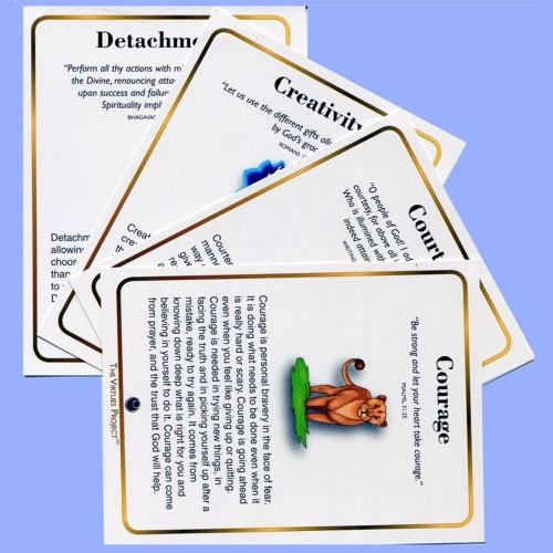Family Virtues Cards