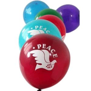 Peace Balloons (50)