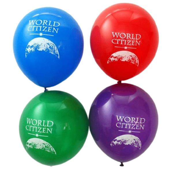 World Citizen Balloons (50)