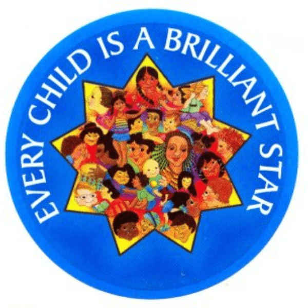 Every Child is a Brilliant Star Stickers