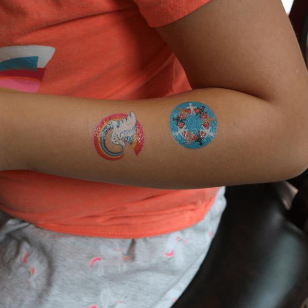 Unity in Diversity temporary tattoo