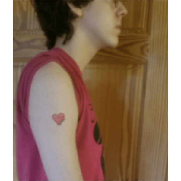 No Room in my heart for prejudice temporary tattoo