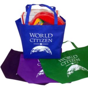 World Citizen Wide-Top Tote Bag