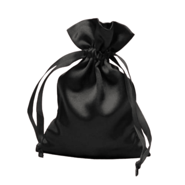 Small Satin Jewelry Pouch / bag