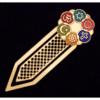 Cloisonne Clip-style Interfaith Bookmark