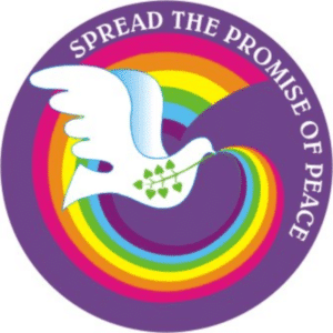 Spread the promise of peace Button