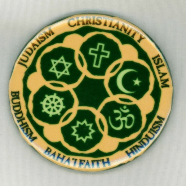 Circle of Religions magnet