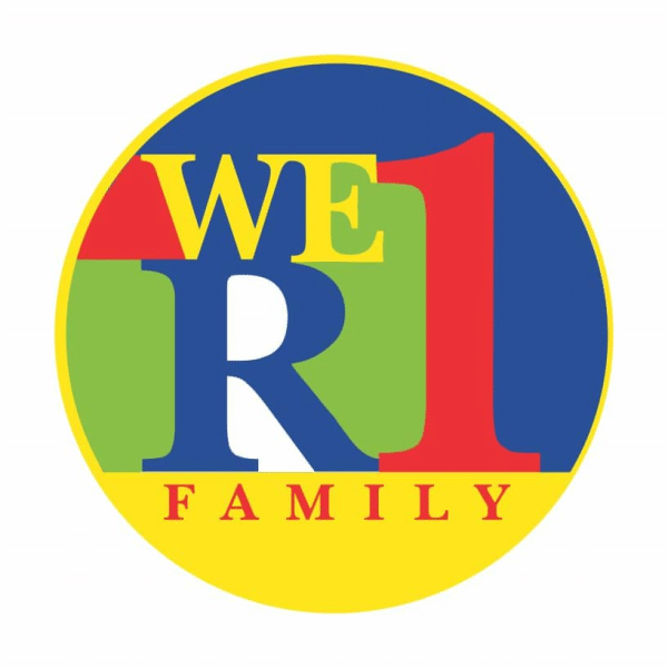 We are one Family magnet