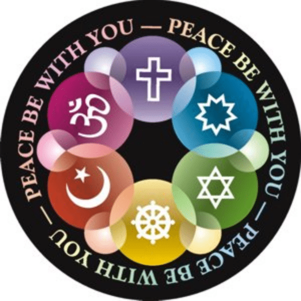Peace be with you Stickers