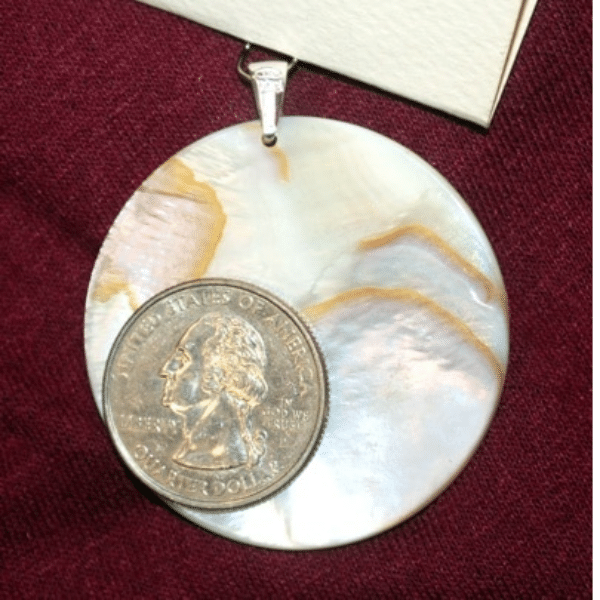 Mother of Pearl Interfaith Pendant