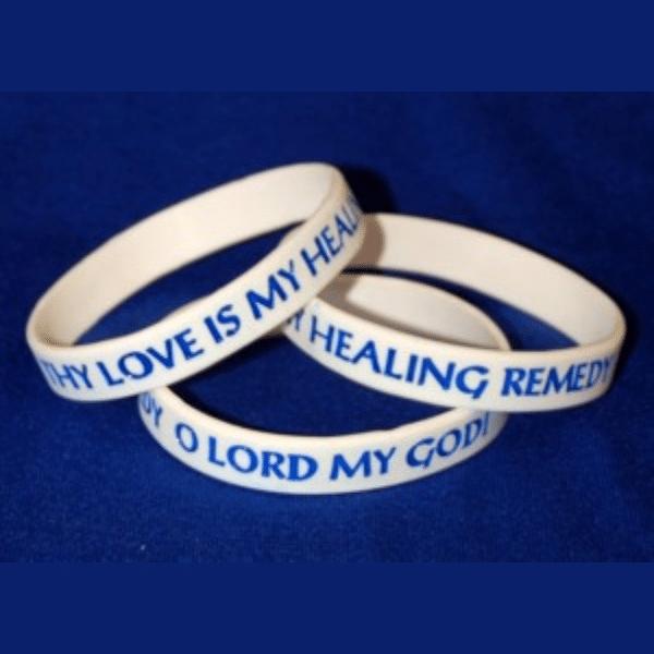 Interfaith Healing Prayer Awareness Bracelet
