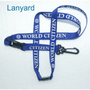 World citizen lanyard