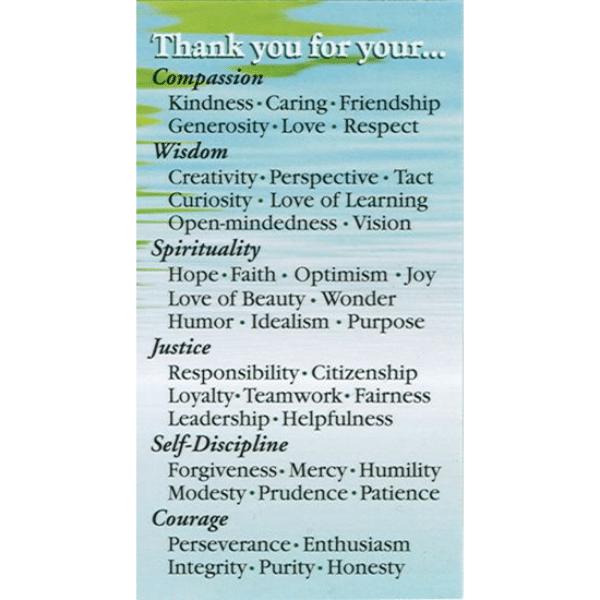 Ways to Praise Cards