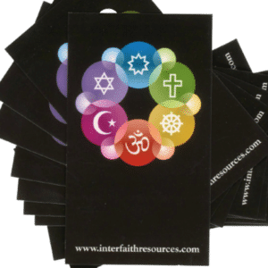 Interfaith Golden Rule Wallet Cards