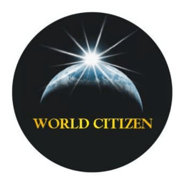 World Citizen Black Magnet