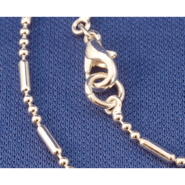 Sterling Silver Plated 16″ Ball Chain