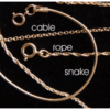 Gold Plated 20″ Cable Chain