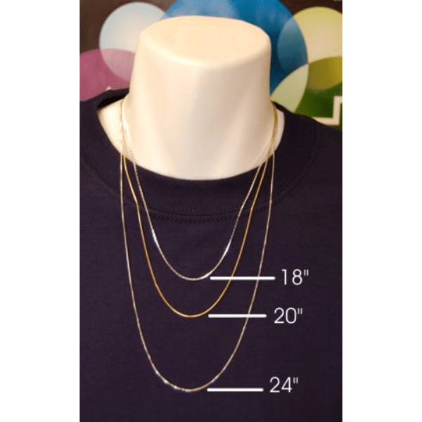 Sterling Silver Snake Chain – 18″