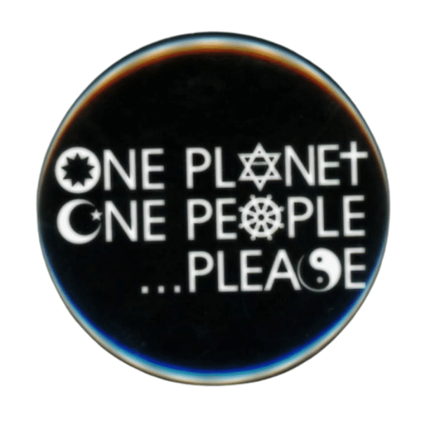 One Planet One People Please Magnet
