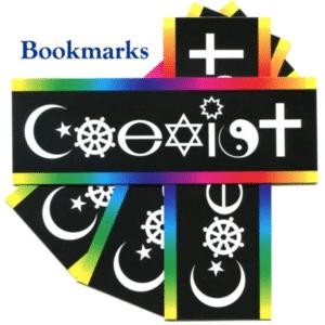 Coexist Bookmarks