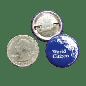 1″ Mini World Citizen Button