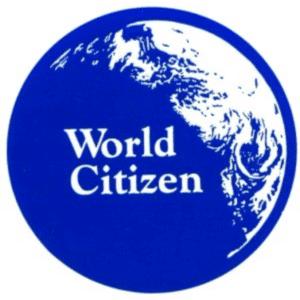World Citizen Button (2-1/4″)