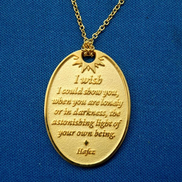 You Are Loved Gold Medallion