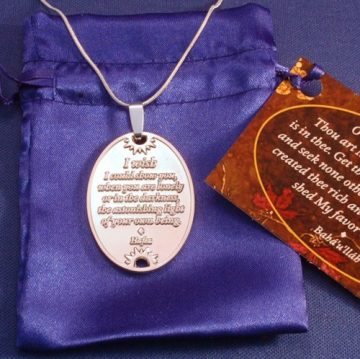 You Are Loved Silver Pendant