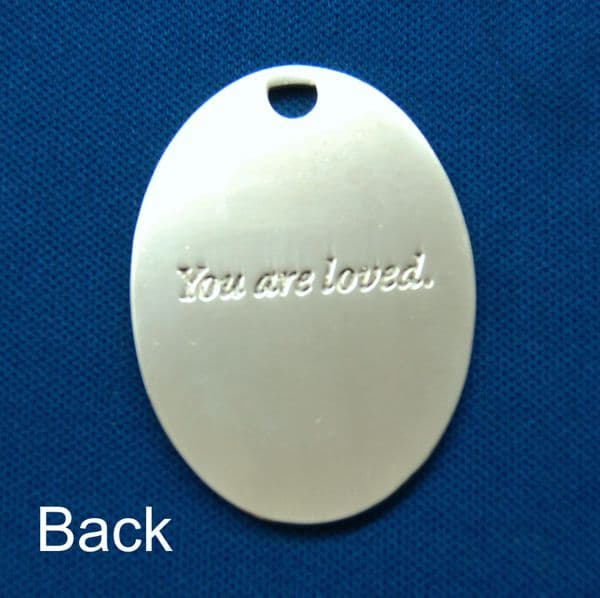 You Are Loved Silver Medallion