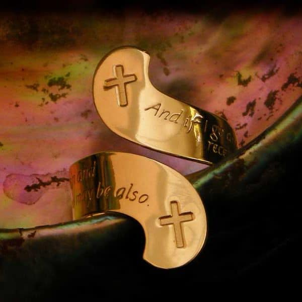 Christian Burial Ring
