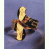 """John 14:3 """"I Will Come Again"""" Adjustable Ring"""
