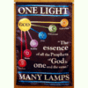 One Light – Many Lamps Satin Wall Hanging