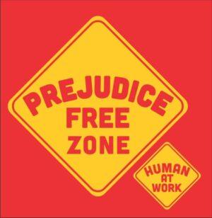 Prejudice Free Zone T-shirt