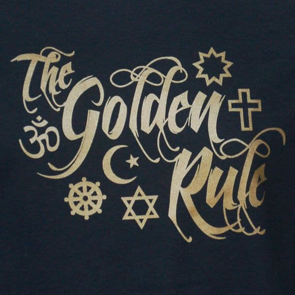 Interfaith Golden Rule T-shirt