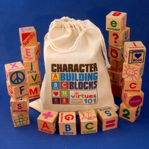 ABC Character Building Blocks