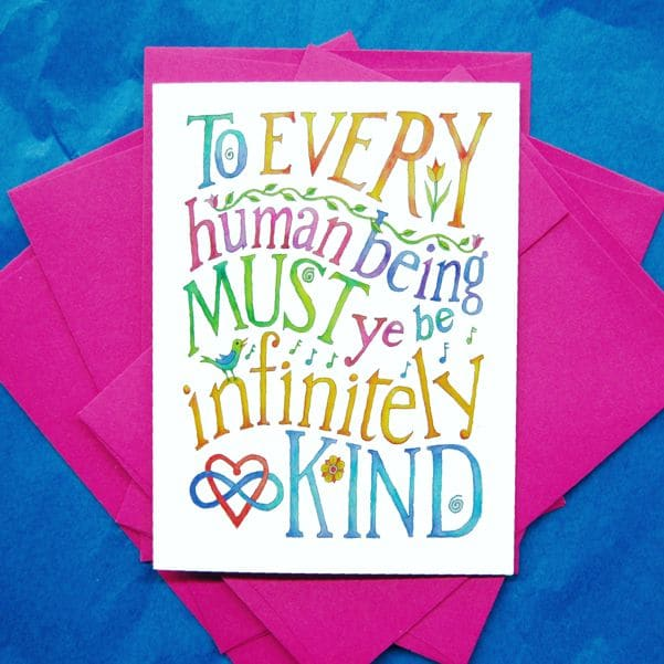 Kindness Thank-You card
