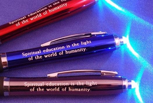 Education Flashlight Stylus Pen