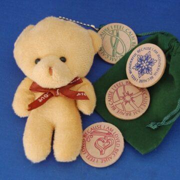 CuddleTeddy & comfort coins