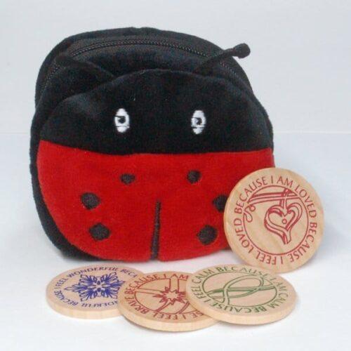 CuddleBuddy's Comfort Coins build emotional maturity