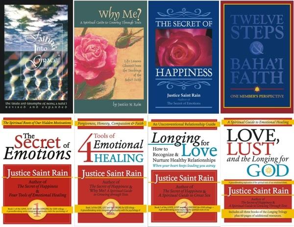 Mental Health Books by Justice Saint Rain