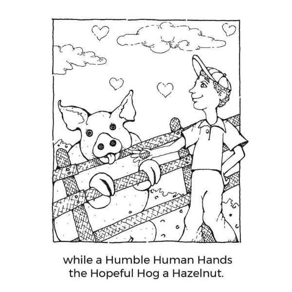 Animals Building Character Coloring/Activities
