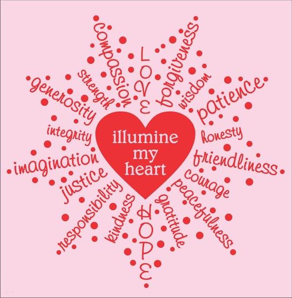 Illumine My Heart T-shirt