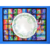 ABC Virtues Placemat on Heavy Washable Fabric